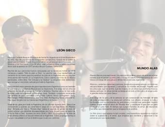 Booklet Design: Rocio Valenzuela (page 4)